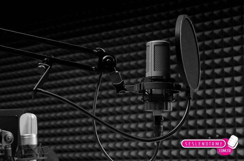 Stüdyo mikrofonu