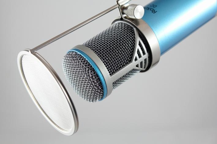 Mikrofon pop filtre